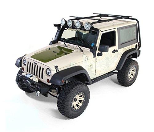 Rugged Ridge 11703.01 Sherpa Roof Rack; 07-18 Jeep Wrangler JK, 2 Door