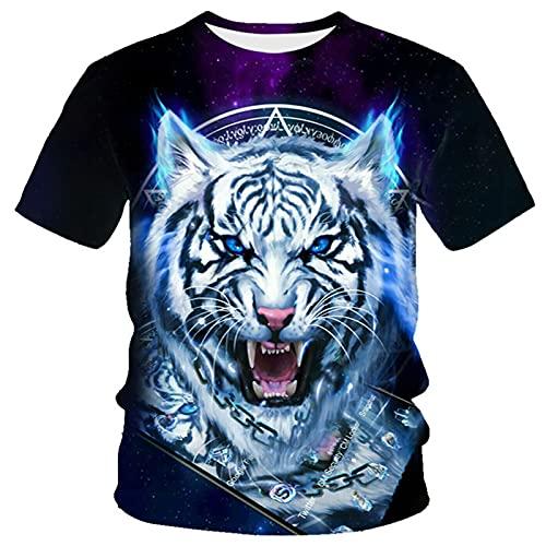 XDJSD Camiseta para Hombre Camiseta Corta De Manga Corta Camiseta De Gran Tamaño Camiseta con Cuello Redondo Superior Camiseta para Hombre Camiseta Suelta Camiseta De Manga Corta Superior Estampada