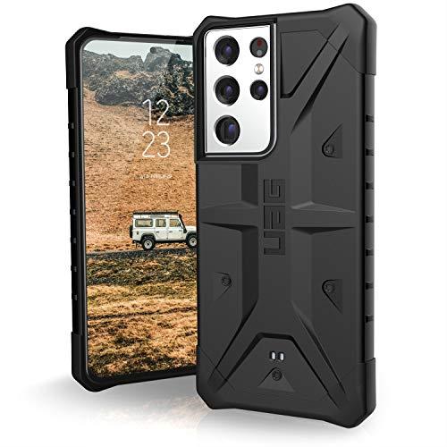 "Urban Armor Gear Pathfinder Hülle Samsung Galaxy S21 Ultra 5G (6,8\"" Zoll) Schutzhülle (Wireless Charging kompatibel, Handyhülle nach Militärstandard, Ultra Slim Bumper) - schwarz"