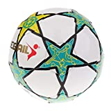 KCGNBQING Balón de fútbol Tamaño de la Estrella de Cinco Puntas 5...