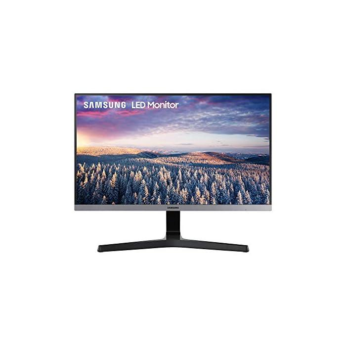 Samsung Écran Full HD Gris foncé 22