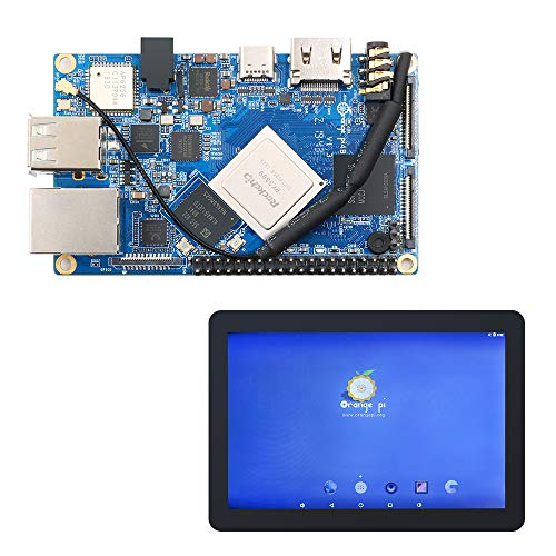 Orange Pi 4B SET3: Orange Pi 4B+LCD Touch Screen and Display Panel Screen