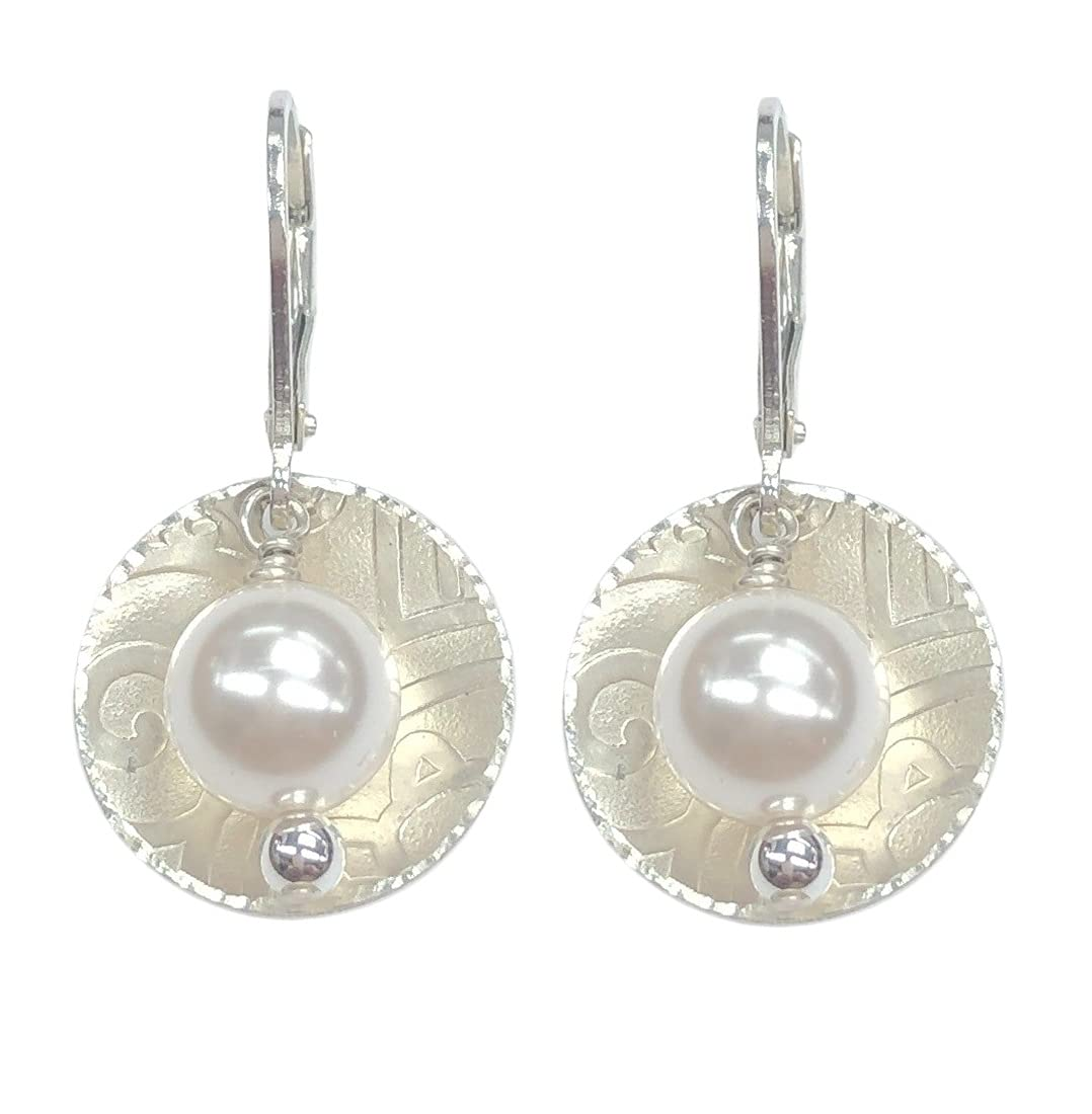 Pearl Dangle Bargain Earrings 'Sublime Challenge the lowest price Romance' Keep T With to Leverback