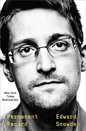 Edward Snowden Permanent Record book cover