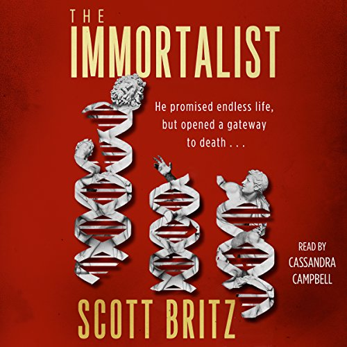 The Immortalist audiobook cover art