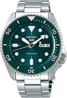 Seiko 5 FACELIFT, 10 Bar water resistant, Calendar, Emerald Green Men's watchSRPD61K1