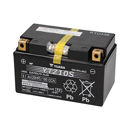 YUASA 61323 - Bateria alta calidad YTZ10S Wet Charged SELLADA (cargada y activada)