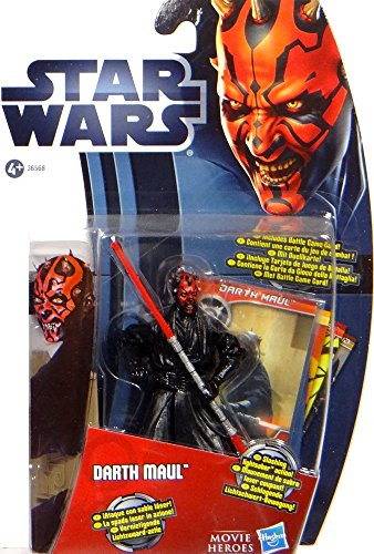 Hasbro Darth Maul Sith Lord mit Slashing Lightsaber MH15 Movie Heroes Star Wars Clone Wars