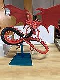 Yugioh Model Kit: Slifer The Sky Dragon Figure Model Rare Card God Figure Anime Game Model Saint Dragon-The God of Osiris
