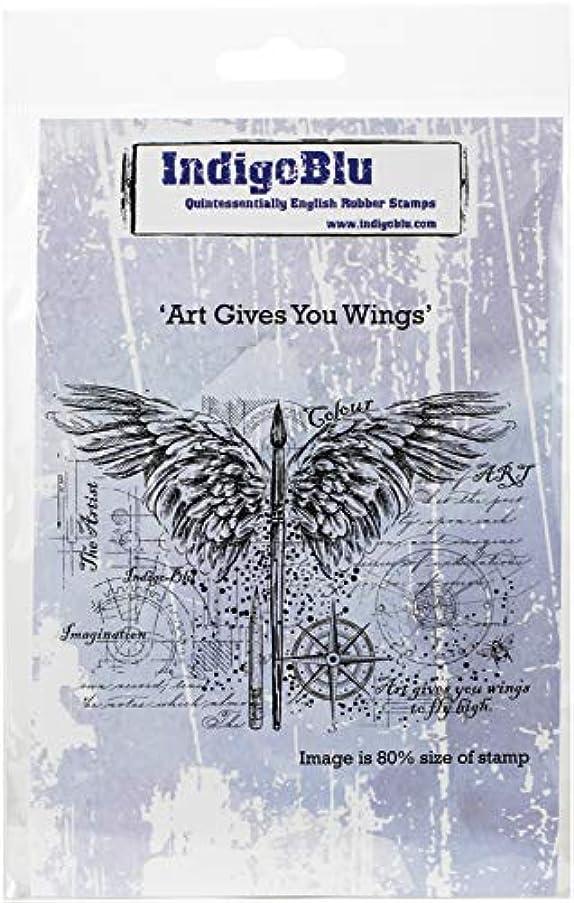 IndigoBlu IND0441 Cling Mounted Stamp 4.75