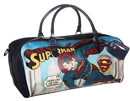 DC Comics Vintage Superman Wochenend Tasche