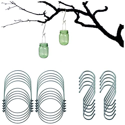 Mason Jar Wire Hangers (Handle-Ease)