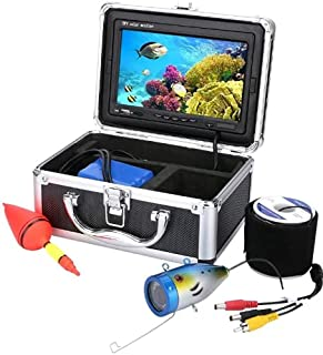 AFSDF Finder Fish Finder HD DVR Grabadora Impermeable Pesca Video Cámara de Pesca LED Luces de lámpara de Infrarrojos