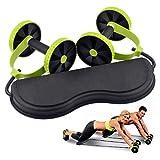 HARIBON Foldable Revolex Xtreme Rally Multifunction Pull Rope Wheeled Health Abdominal Muscle Training