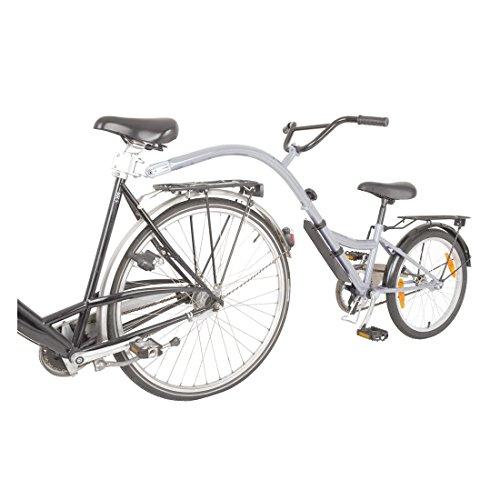 Kinderrad-Nachläufer Adams Folder 1 silber RH 28 cm