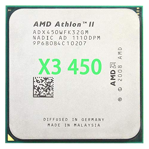 AMD Athlon II X3 450 3,2 GHz Triple-Core CPU Prozessor ADX450WFK32GM Sockel AM3 938pin