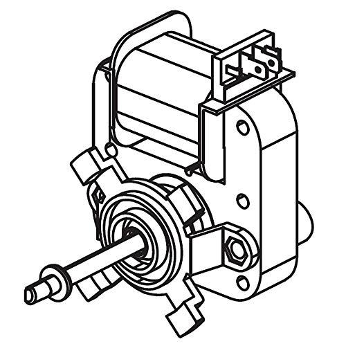 Samsung DG31-00014F Range Convection Fan Motor Genuine Original Equipment Manufacturer (OEM) Part