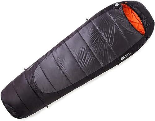 POOU Sac de Couchage de Camping en Plein air équipement d'alpinisme Sac de Couchage Chaud et Portable adapté aux Voyages, au Camping et aux activités de Plein air 900 g