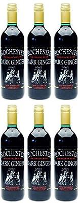 Rochester Rochester Dark Ginger Drink Non Alcholic 725ml (Pack of 6)