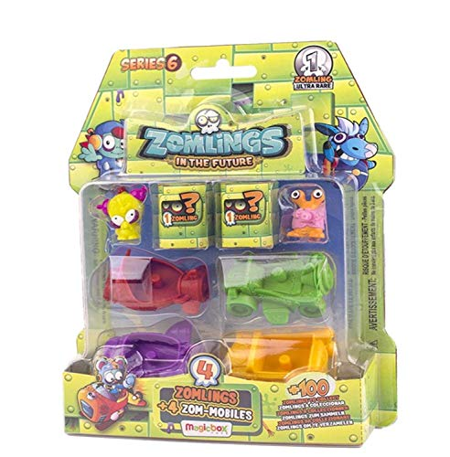 ZOMLINGS- Blíster Pack, Serie 6 (Magic Box INT. Toys ZM6P0600)