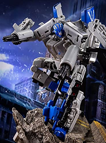 H6001-7 Hurricane Deformation Toy King Kong SS Bounce Ball Helicopter Movie Series Deformation Plane Robot Truck Action Figure, Autobot. Transformable Toy Made of Safe, Sturdy Materials.