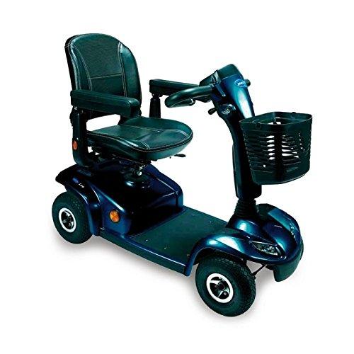 Scooter Leo | 4 ruedas neumáticas | Color Azul Brillante