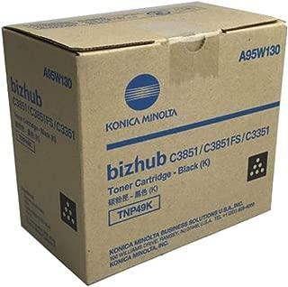 Konica Minolta BIZHUB C3351 (A95W130) Black Toner Cartridge (13,000 Yield)