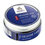 Shoeboy Exclusive Care Shoe Polish Cream Black Intensive Care Nourishment for Sensitive Smooth Leathers Freshens Color Protects Against Wetness 100ML (Pack of 1)