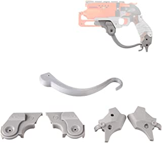WORKER Mod F10555 Hand Kits Type B 3D Printed for Nerf HammerShot Modify Toy Color Gray