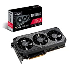 Powered by AMD Radeon 2nd generation 7nm technology with 1980 Boost Clock, 2560 Stream Processors and 8GB of overclocked GDDR6 memory Supports up-to 6 monitors with 3x DisplayPort 1.4 and 1x HDMI 2.0B port Pci Express 4.0 delivers double the bandwidt...