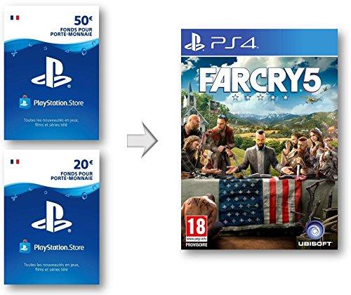 Crédit PSN pour Far Cry 5 | Code Jeu PS4 - Compte français