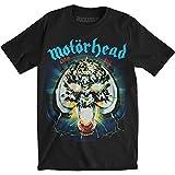 Motorhead Men Overkill Short Sleeve T-Shirt, Black, Medium