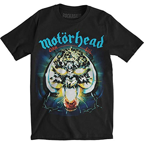 Camiseta hombre Motorhead T shirt men hard Rock Heavy Lemmy metal metalhead