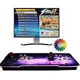 Classic Arcade Video Game Machine, Pandora Box 3D Joystick y Botones multijugador Arcade Console, 8000 Videojuegos Retro clásicos Todo en uno, Compatible con HDMI y VGA