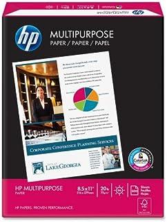 "HP 112000 8-1/2"" X 11"" Multipurpose Copy Laser & Inkjet Paper"