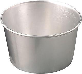 Ollas Agnelli cónico Molde para panettone, Aluminio, Plata, 24 cm