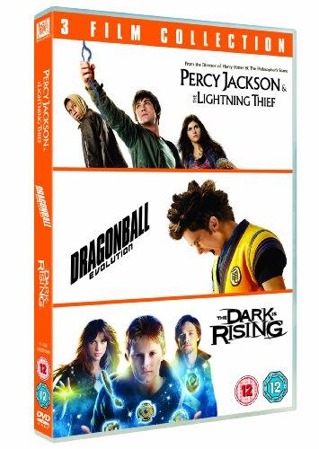 Percy Jackson And The Lightning Thief/Dragonball Evolution/... (3 Dvd) [Edizione: Regno Unito] [Reino Unido]