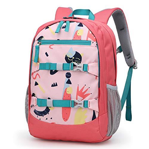 MOUNTAINTOP Kinderrucksack Schulrucksack Grundschule Rucksack Freizeit Daypack für Mädchen Jungen,27x12x40cm