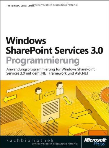 Windows SharePoint Services 3.0 Programmierung