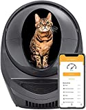Litter-Robot 3 Connect Essentials Bundle by Whisker (Grey) - Automatic, Self-Cleaning Cat Litter Box, WiFi Enabled, Includes Ramp, Fence, 100 Waste Drawer Liners & 3 Carbon Filters, Extended Warranty