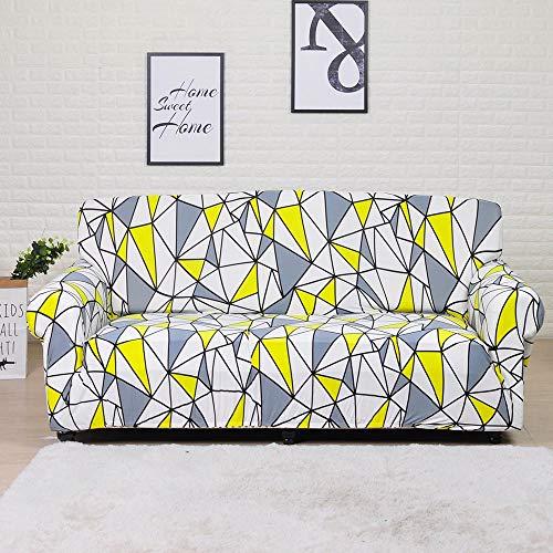 Housse de canapé Extensible Housse de Meuble en Polyester Causeuse Housse de canapé Housse de Chaise pour Salon A29 4 Places