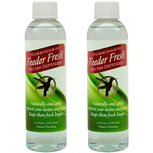 Sapphire Labs Hummingbird Nectar Extender Feeder Fresh Nectar Defender | Prolongs The Life of Nectar for Hummingbird Feeders Especially During Warm Weather | 2 Pack