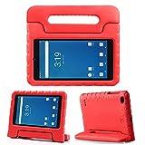 "REGOKI Case for Onn 7"", Surf Onn 7inch Tablet Case, Lightweight Handlestand Kids Cover Compatible with Walmart Onn 7inch Surf Tablet 2020/2019 (Model 100005206/100015685) (Red)"