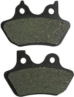 Foreverun Motor Rear Brake Pads for Harley Davidson FXST/FXSTi Softail Standard 2000-2005