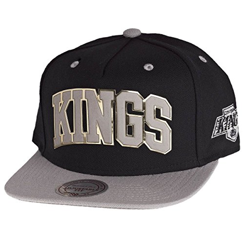 Mitchell And Ness - Casquette Snapback Homme Los Angeles Kings Sonar Snapback - Black