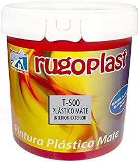 Pintura plástica blanca mate lavable de gran calidad interior/exterior ideal para decorar tu casa (salón, cocina, baño, dormitorios.) T-500 (23 Kg) Envío GRATIS 24 h.