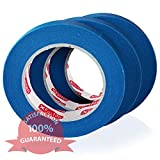 XFasten Professional Blue Painters Tape,...