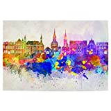 artboxONE Poster 90x60 cm Reise Aachen Skyline in