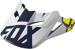 Fox Racing V1 Race 2016 Helmet Visor White/Yellow MD/LG