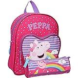 Pret Peppa Pig - Mochila infantil (31 cm), color rosa